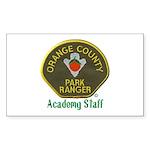 Orange County Ranger Academy Staff Sticker