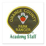Orange County Ranger Academy Staff Square Car Magn