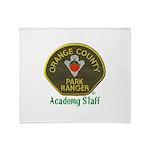 Orange County Ranger Academy Staff Throw Blanket