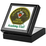 Orange County Ranger Academy Staff Keepsake Box