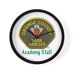 Orange County Ranger Academy Staff Wall Clock