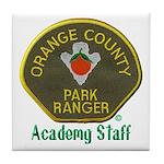 Orange County Ranger Academy Staff Tile Coaster