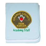 Orange County Ranger Academy Staff baby blanket