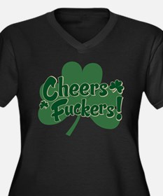 cheers fuckers.png Plus Size T-Shirt