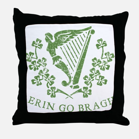 Erin Go Braugh Throw Pillow