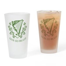 Erin Go Braugh Drinking Glass