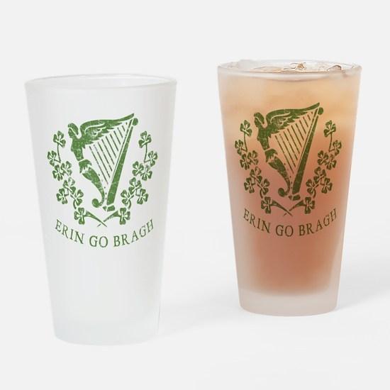 Erin Go Braugh Drinking Glass