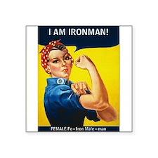 Rosie is Ironman Sticker