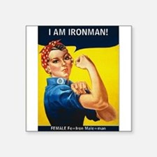 Rosie is Ironman Sticker