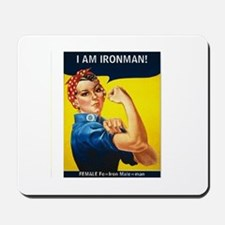 Rosie is Ironman Mousepad