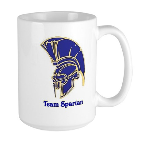 Team Spartan Large Mug