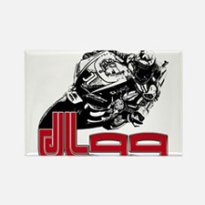 JL99bike Rectangle Magnet