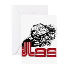 JL99bike Greeting Card