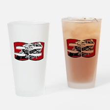 JL99bikeinset Drinking Glass