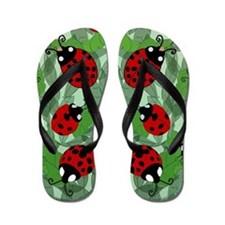 Unique Red Flip Flops