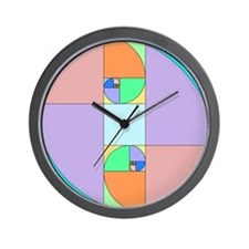 Golden Ratio Egg Wall Clock