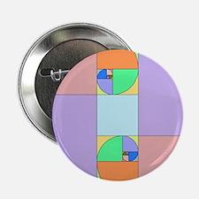 """Golden Ratio Egg 2.25"""" Button"""