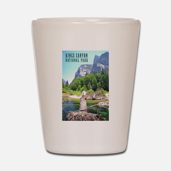 Kings Canyon National Park Tall Shot Glass