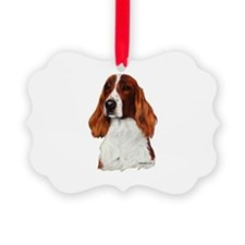 Irish Red & White Setter Ornament