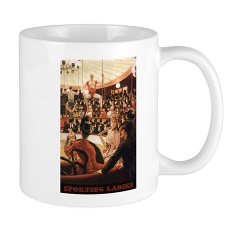 Sporting Ladies Vintage Mug Mugs