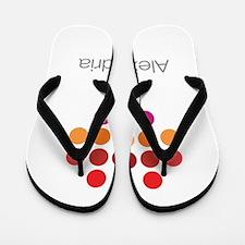 I Heart Alexandria Flip Flops