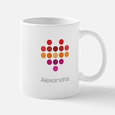 I Heart Alexandria Mug