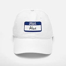 Hello: Abe Baseball Baseball Cap