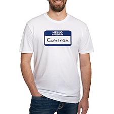 Hello: Cameron Shirt
