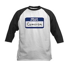 Hello: Cameron Tee