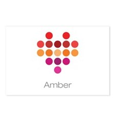 I Heart Amber Postcards (Package of 8)