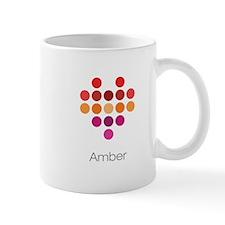 I Heart Amber Small Mug