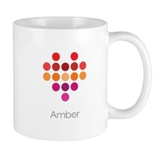 I Heart Amber Small Mugs