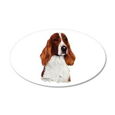 Irish Red & White Setter Wall Decal