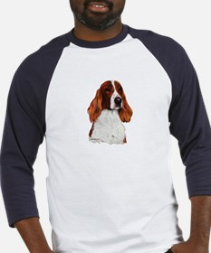 Irish Red & White Setter Baseball Jersey