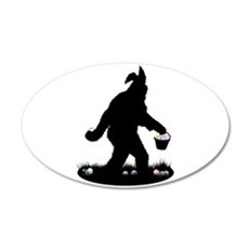 Easter Squatchin Wall Decal