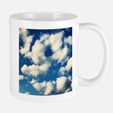 Fluffy Clouds Print Mug