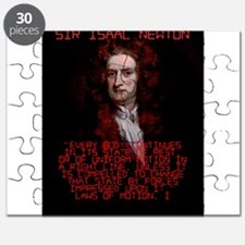 Laws of Motion 1 - Isaac Newton Puzzle