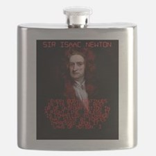 Laws of Motion 1 - Isaac Newton Flask