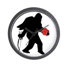 Valentine Sasquatch Wall Clock