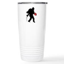 Valentine Sasquatch Travel Mug