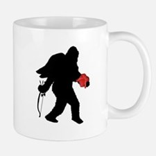 Valentine Sasquatch Mug