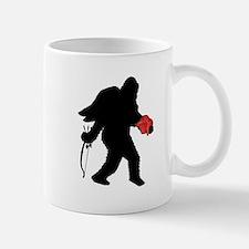 Valentine Sasquatch Small Small Mug