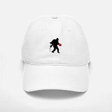 Valentine Sasquatch Baseball Baseball Baseball Cap