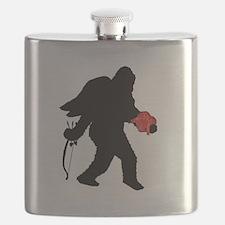 Valentine Sasquatch Flask
