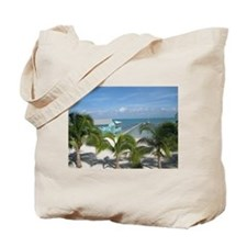Beautiful Belize beach Tote Bag