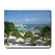 Beautiful Belize beach Mousepad