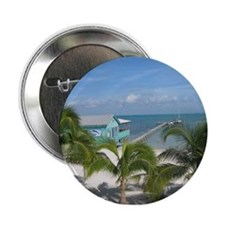 "Beautiful Belize beach 2.25"" Button"