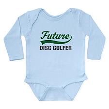 Future Disc Golfer Long Sleeve Infant Bodysuit