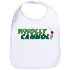 Wholly Cannoli Bib