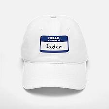 Hello: Jaden Baseball Baseball Cap